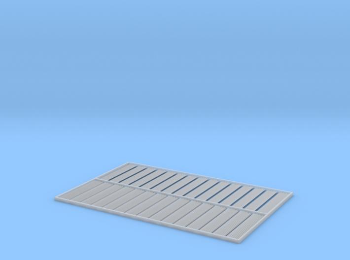 HO 30x10ftx8 Cor. Corrugated Iron Sheets 3d printed