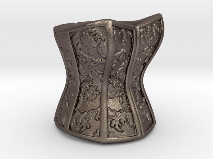 Victorian Damask Corset, c. 1860-68 3d printed