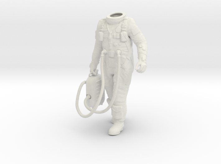 1:6 Gemini Astronaut / Body Nr 2 3d printed