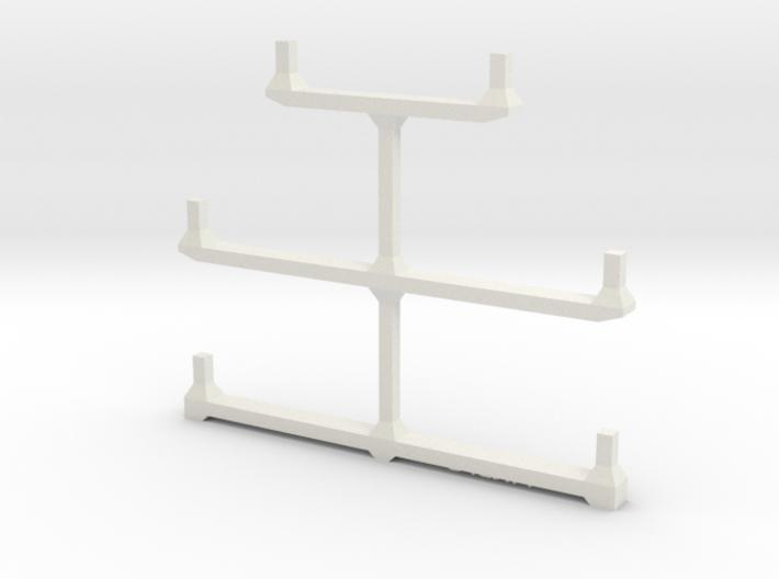 Well Car Rack (5-Unit) 3d printed