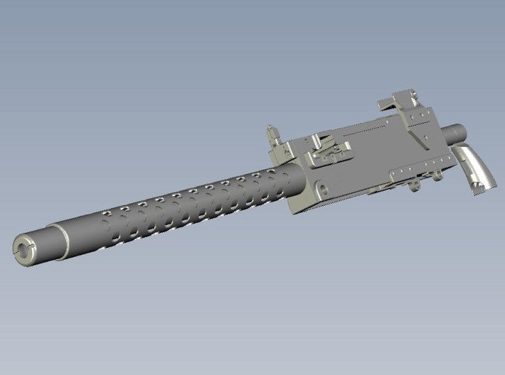 1/18 scale WWII Browning M-1919A4 machinegun x 1 3d printed