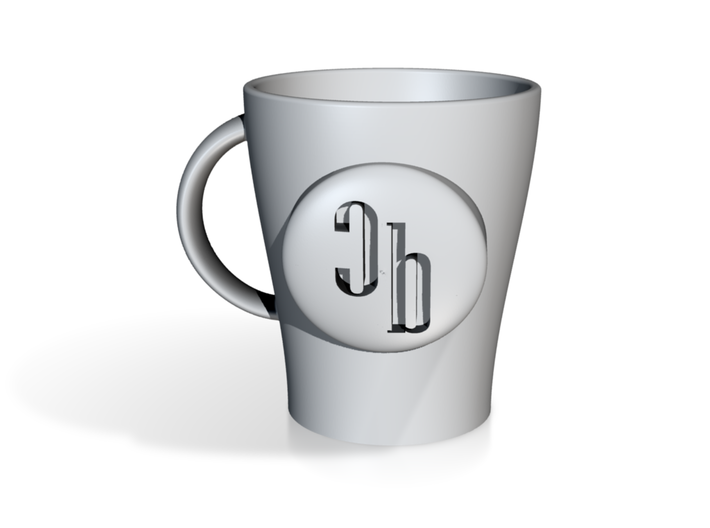 Crossbeat Mug that is Customizable 3d printed
