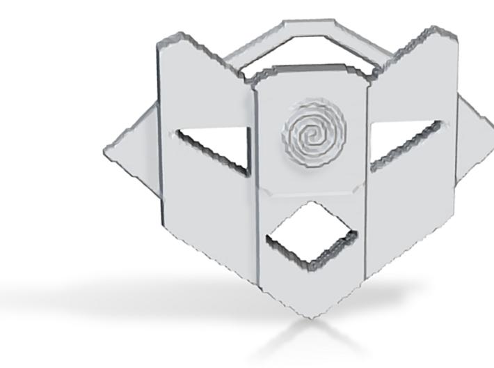 Atlantean Medallion 3d printed