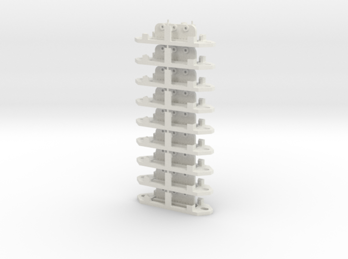 Railroad switch/point actuator PECO PL-13 (x9) 3d printed