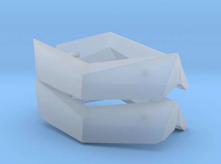 1/50th Peterbilt visors 3d printed