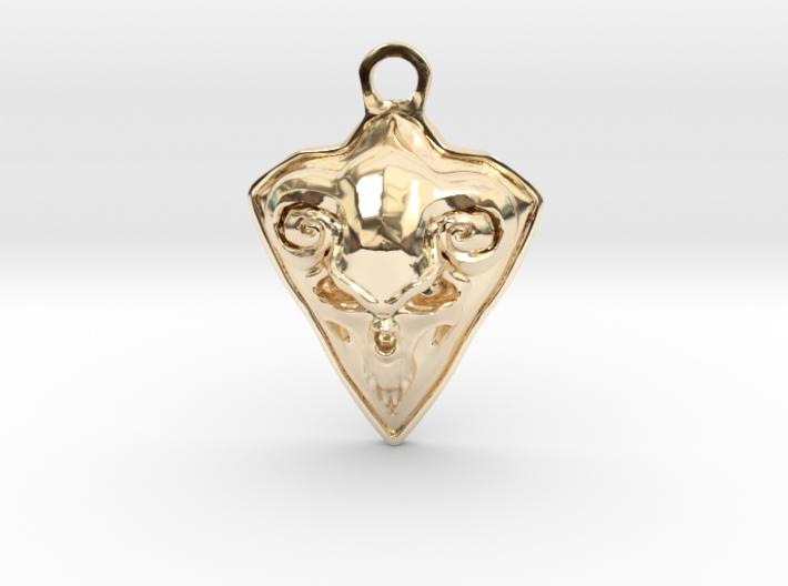 FAUST pendant 3d printed