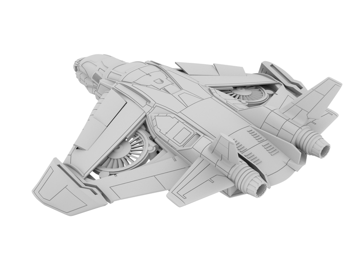 285_Ave_Quinjet [x1] 3d printed