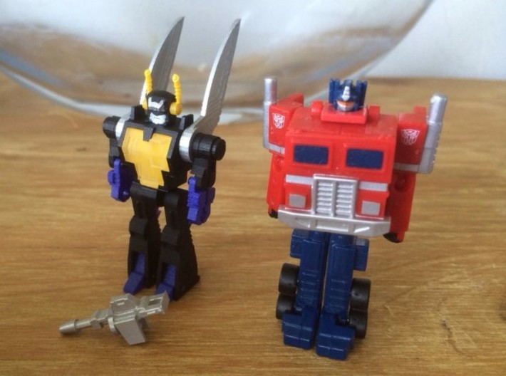 WST Kickback world smallest transformers 3d printed