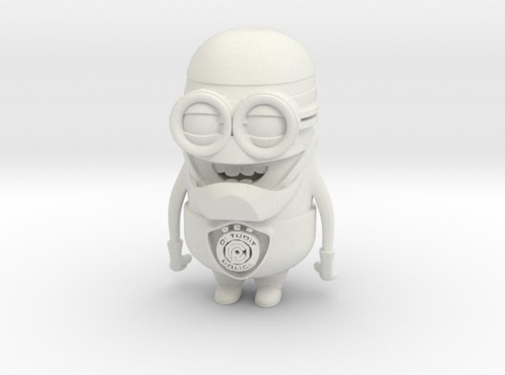 Robocop Minion 3d printed