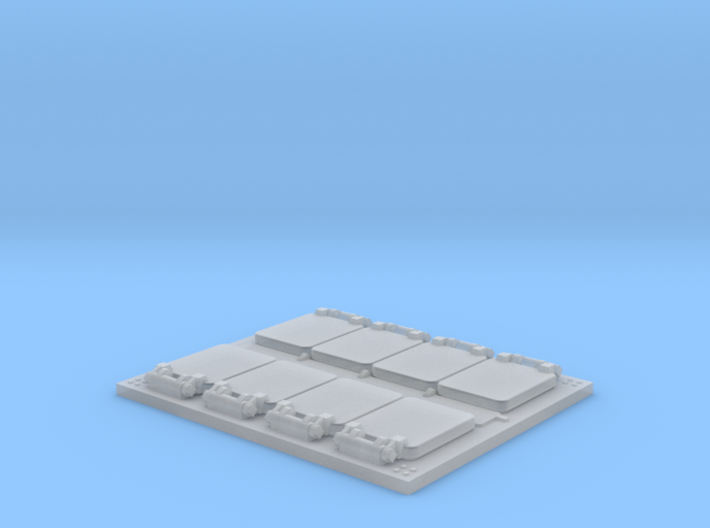 VLS Launcher 8 Cell Segment 1/144 3d printed