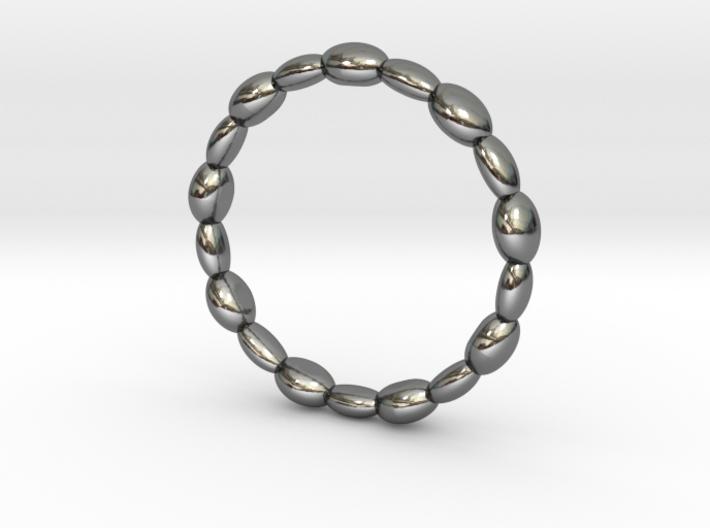 Marine Stone Ring 3d printed
