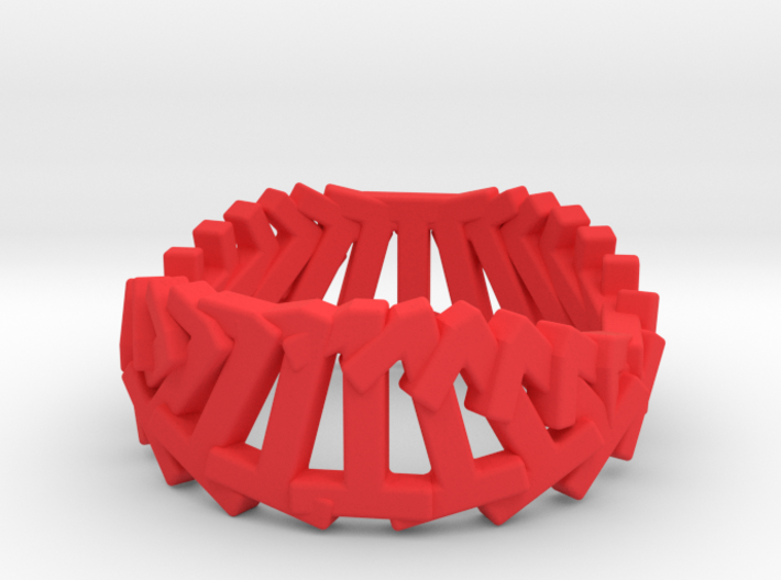 1.Ring.360 (Size 9) 3d printed