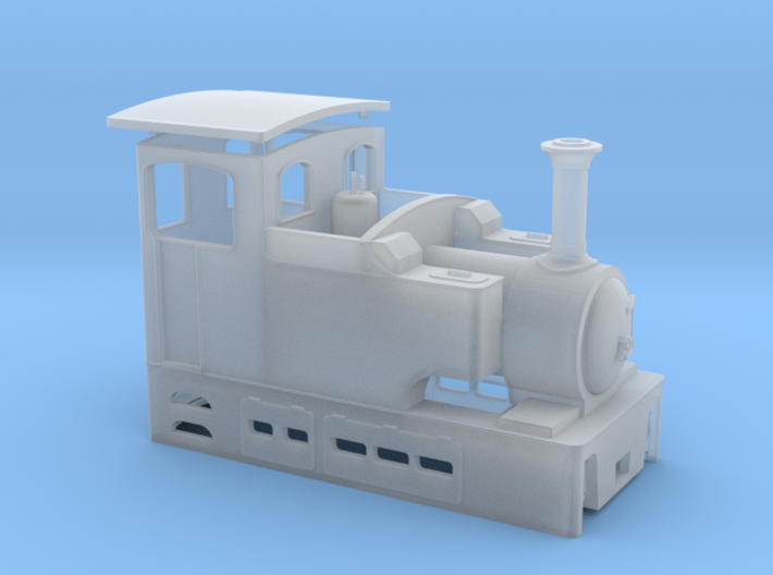 009 Irish Tram Engine  3d printed