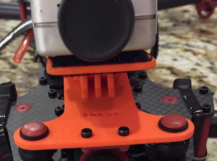Dynamic Camera Mount For Vortex 285 3d printed