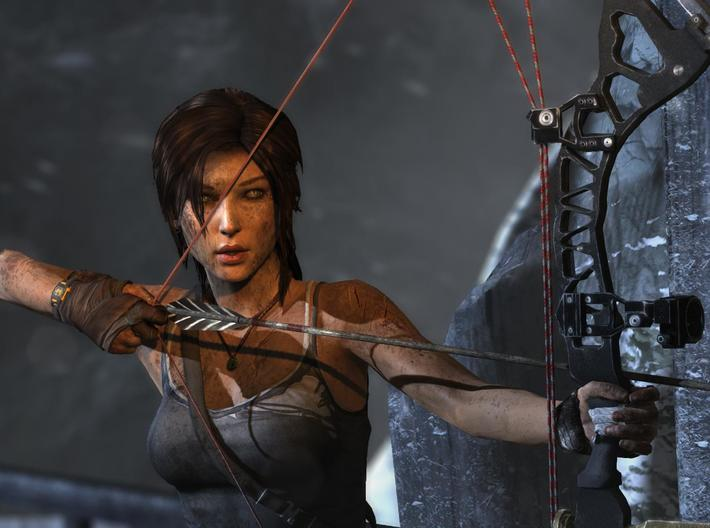 The Rise of Tomb Raider - Bow 3d printed