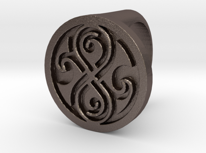 Ring of Rassilon 3d printed