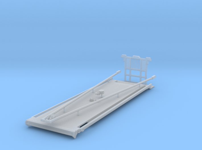 1/64th Heavy Oilfield Truck Gin Pole Bed 3d printed