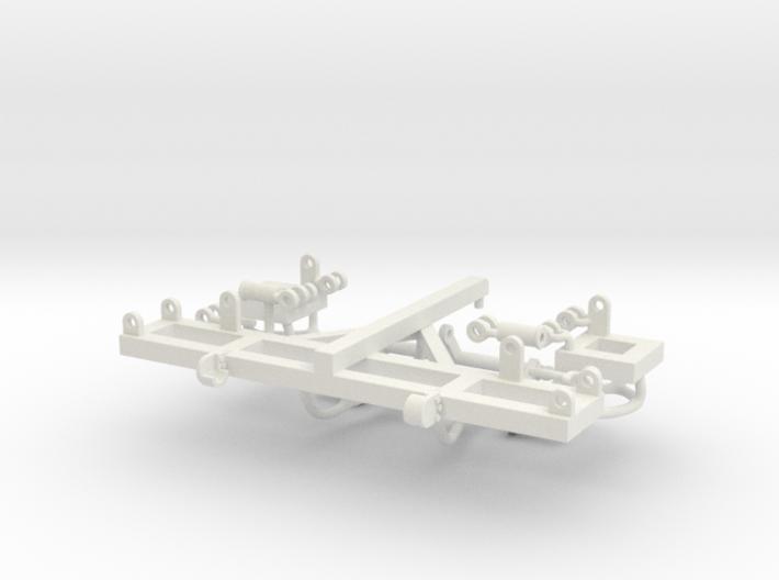 1/64 17.5' Crumbler Frame 3d printed