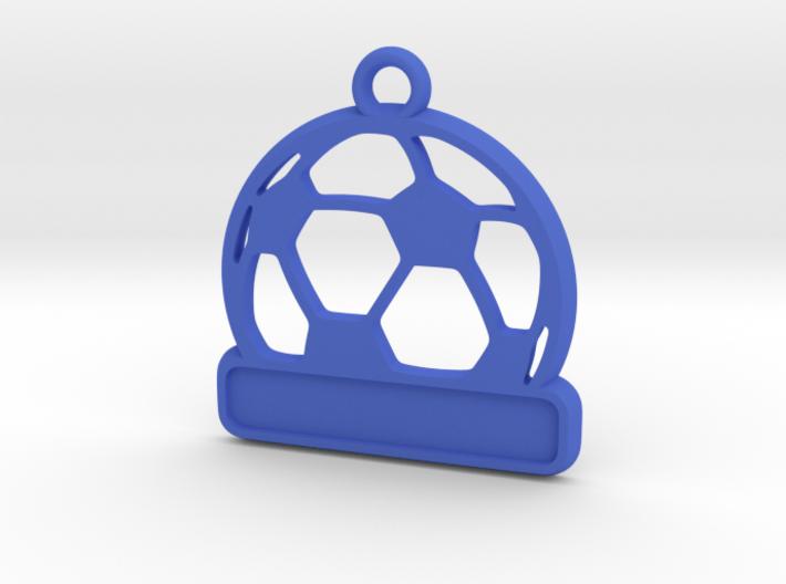 Football / Soccer Ball Keychain 3d printed