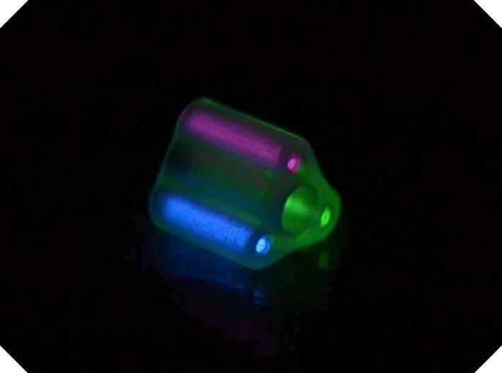 Triple Tritium Bead 4 (Pandora Thread) 3d printed