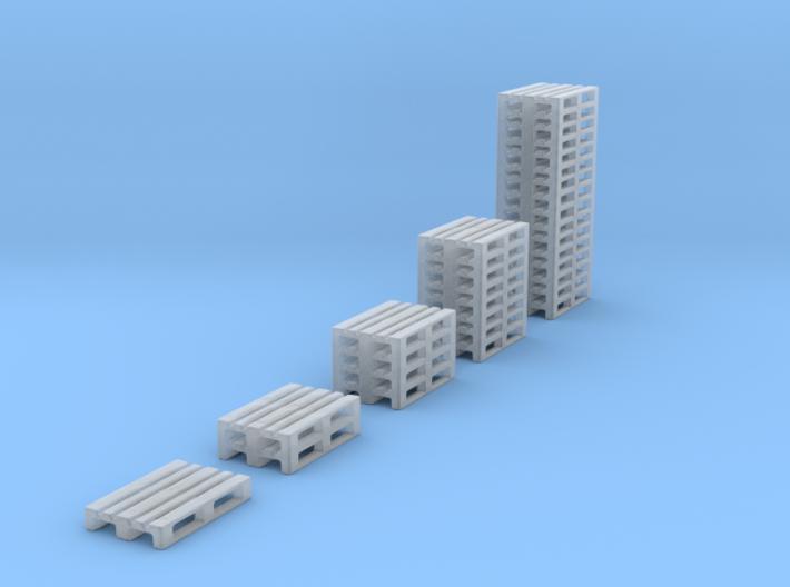 1/160 Spur N scale Europaletten Set 1 3d printed