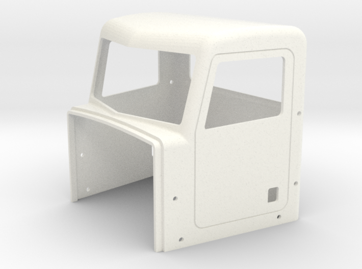 Pete Style Day Cab 3d printed