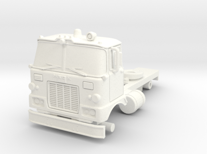 1/87 Super Pumper/Tender Cab 3d printed
