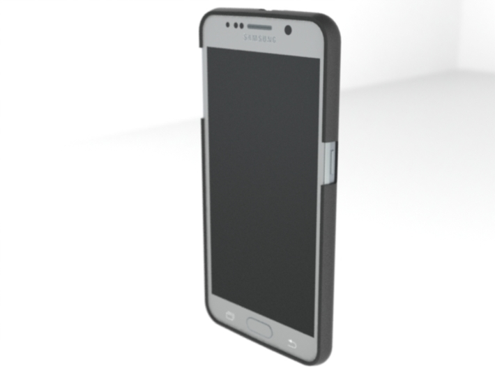 Galaxy S6 slim cover 3d printed