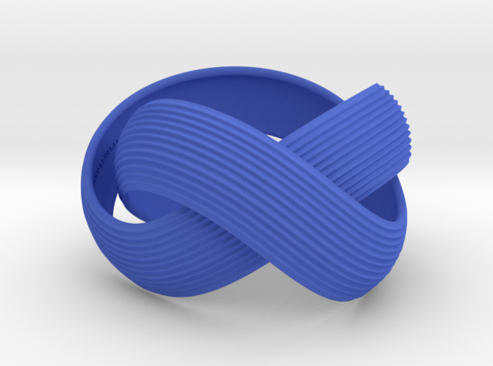Double Swing Grooved Bracelet XL 61 3d printed