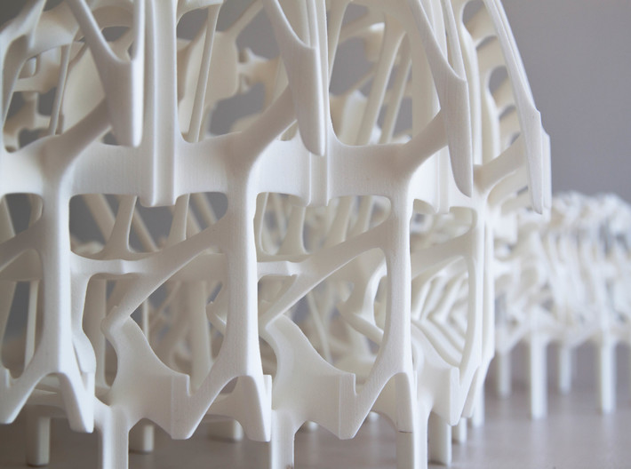 Womb of After Life Part 3 3d printed