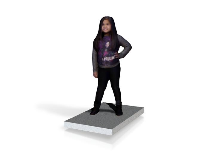 Girl 3d printed