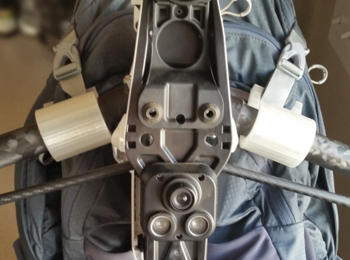 Inspire 1 Backpack Hooks (2x for a set) 3d printed