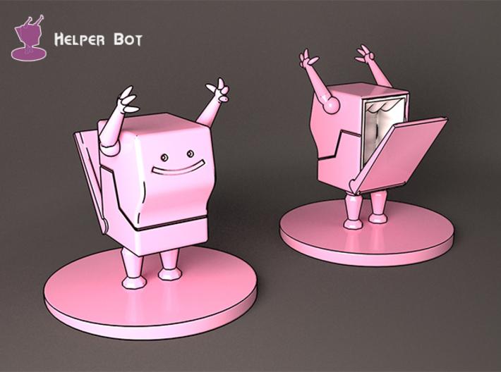 Helper Bot 3d printed