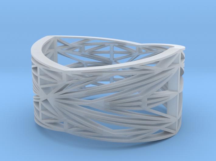 Linear Bracelet 3d printed