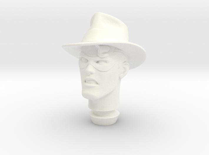 1:9 Scale The Spirit Head 3d printed
