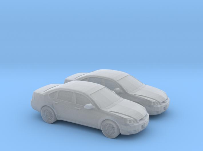 1/200 2X 2011 Chevrolet Impala 3d printed