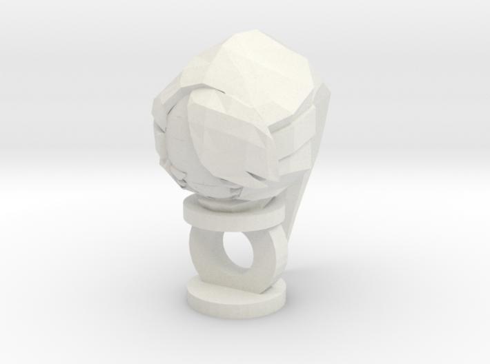 Shygirl Keychain 3d printed