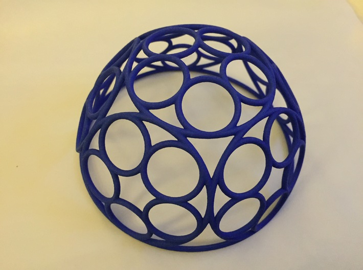 Ring Dome 3d printed