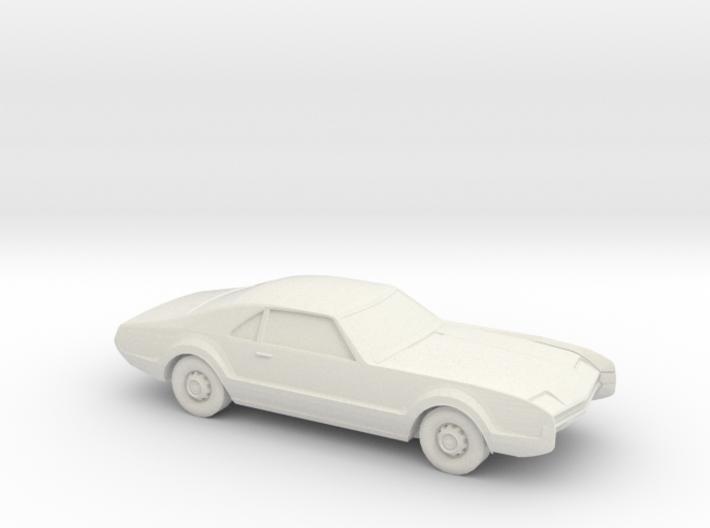 1/87 1966 Oldsmobile Toronado 3d printed