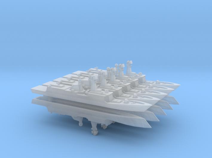 PLA[N] 054A x 10, 1/6000 3d printed
