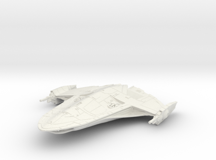 X-70B Phantom (1/270) 3d printed
