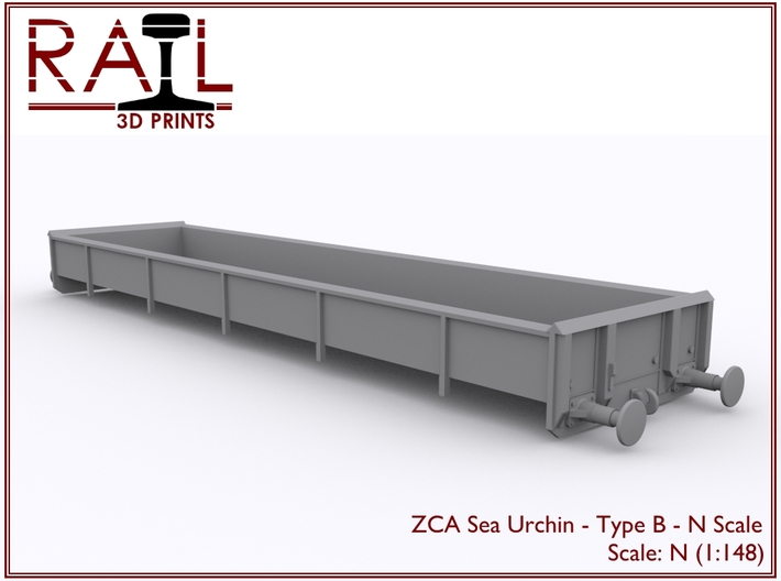 ZCA Sea Urchin - N Scale - Type B 3d printed