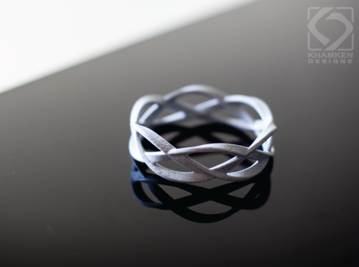 Weave Ring (Small) 3d printed