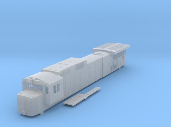 Conrail N Scale C39-8 3d printed