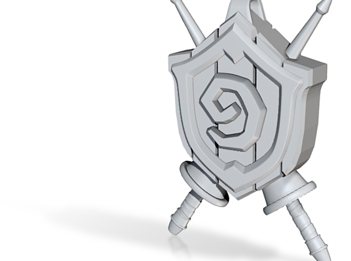 Hearthstone: Grand Tourney Logo 3d printed