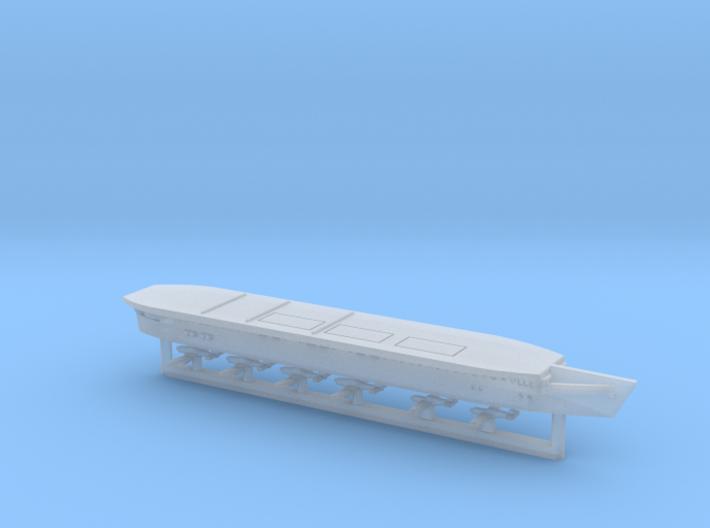 German Dräger Kleinflugzeugträger-Project 1/2400 3d printed