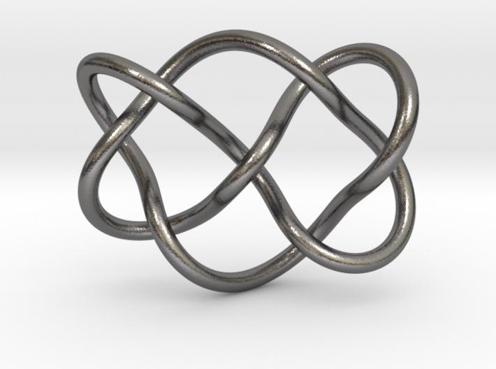 0356 Hyperbolic Knot K6.28 3d printed
