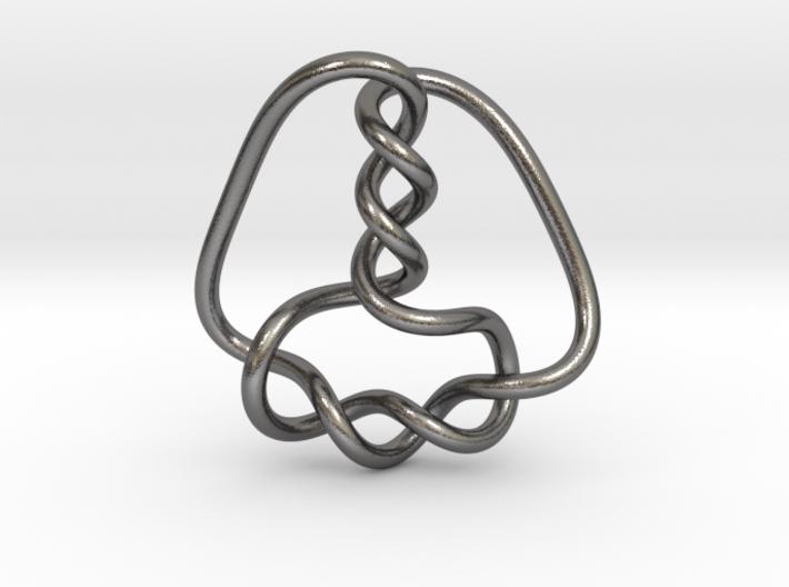 0357 Hyperbolic Knot K6.34 3d printed
