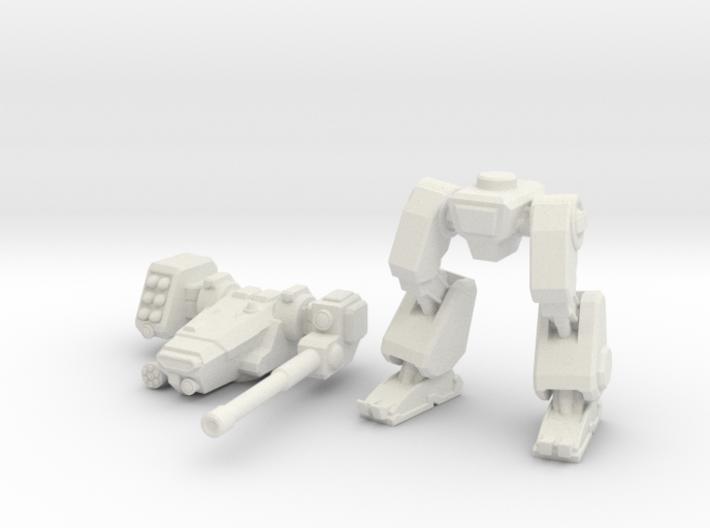 Terran Combat Walker, 15mm scale. 3d printed