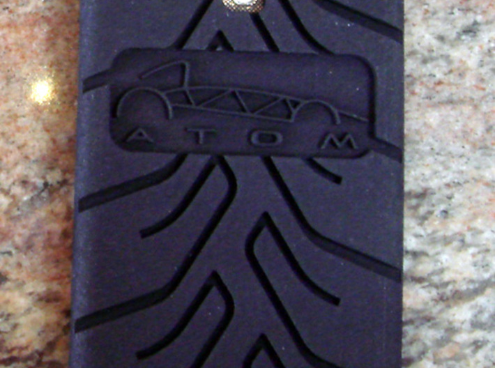 Galaxy S4 case Atom A048 3d printed
